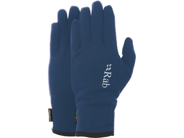 Rab Power Stretch Pro Rękawiczki Mężczyźni, marin